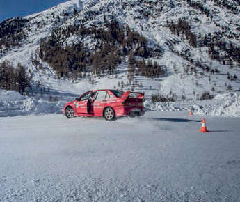 Livigno Cars on ice