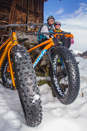 Livigno Fat bike inverno