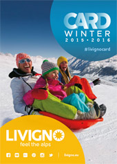 Livigno card folder