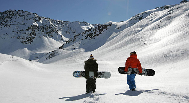 Snowboard a freestyle